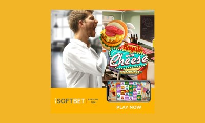 iSoftBet releases mouthwatering Royale With Cheese Megaways™