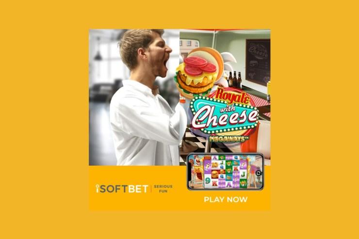 iSoftBet merilis Royale With Cheese Megaways™ yang menggiurkan