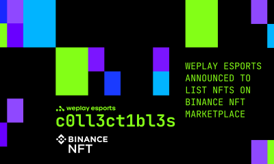 WePlay Esports announced to list NFTs on Binance NFT Marketplace