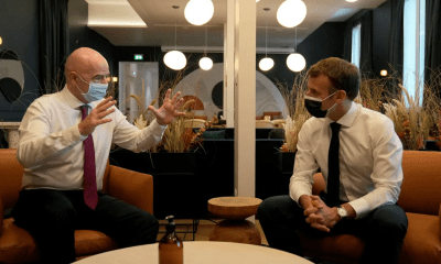 FIFA President joins President of France to launch new FIFA office in Paris