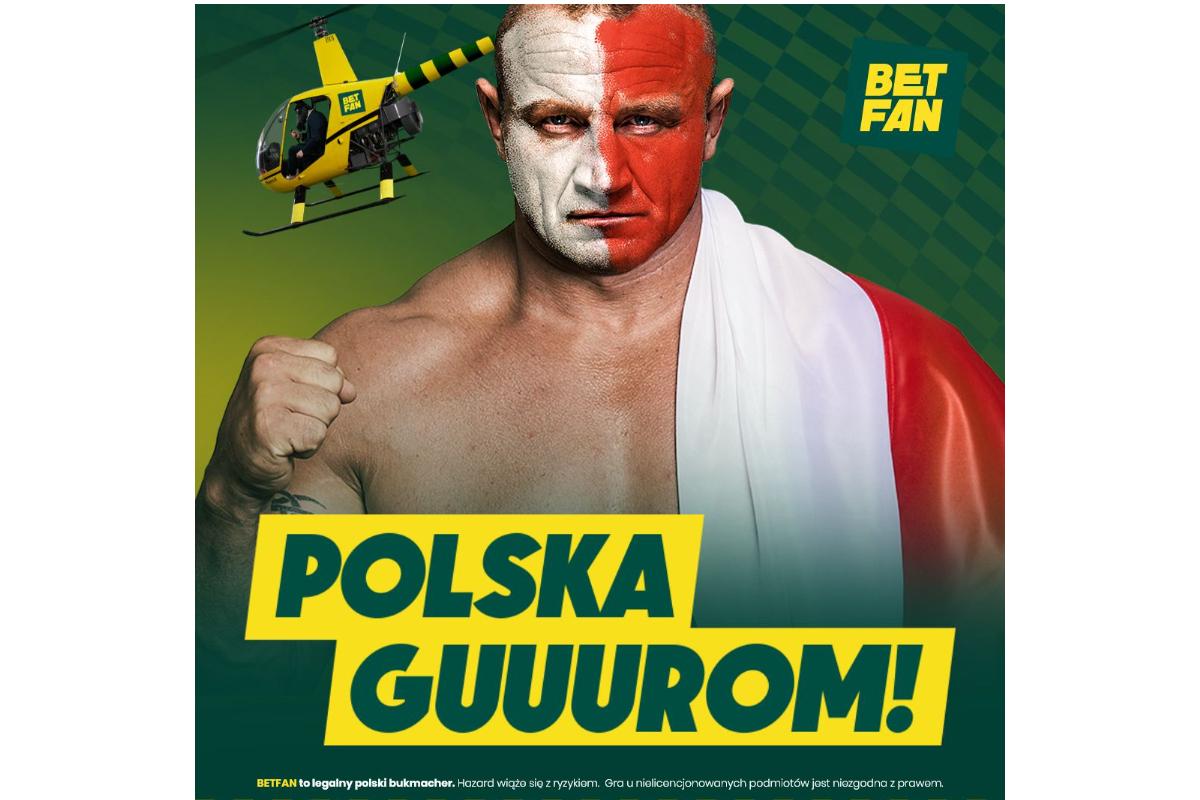 BETFAN with strongman-Pudzian in the