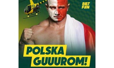"""BETFAN with strongman-Pudzian in the """"Go Poland!"""" campaign"""