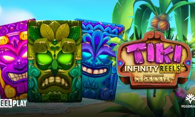 Yggdrasil and ReelPlay combine for unforgettable island adventure in Tiki Infinity Reels Megaways™