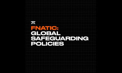 Fnatic publishes first-ever set of safeguarding policies for the pro gaming industry