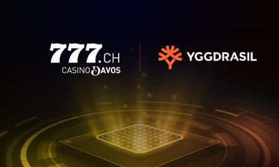 Yggdrasil strikes content partnership deal with Casino Davos in Switzerland