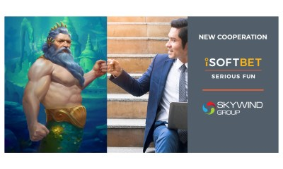 iSoftBet seals content partnership with Skywind Group