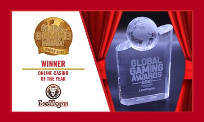LeoVegas Online Casino of the year 2021