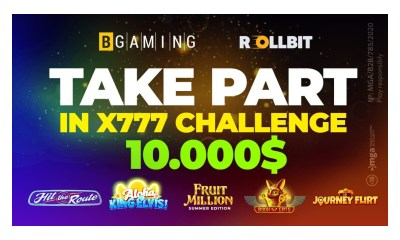 BGaming & Rollbit launch Summer x777 Special Challenge for crypto players