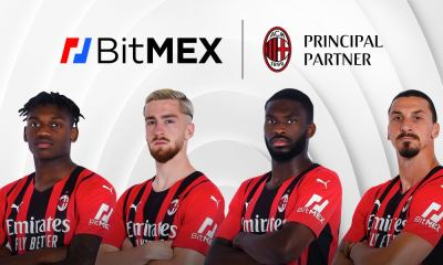 BitMEX Joins AC Milan as First-Ever Sleeve Partner