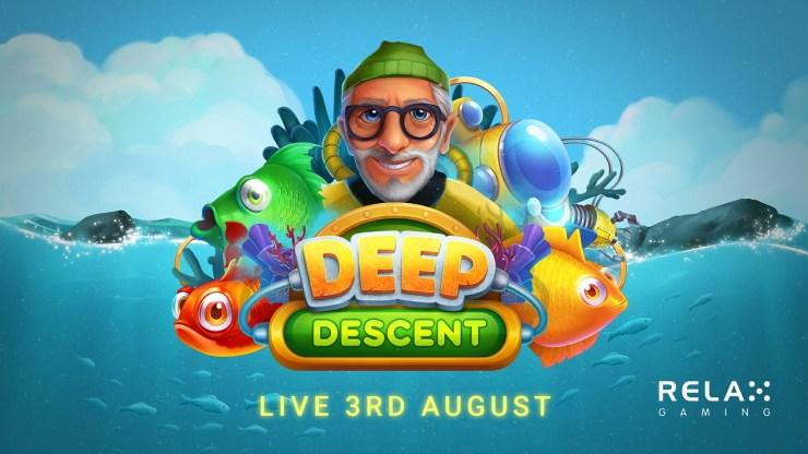 Relax Gaming promet des trésors engloutis dans Deep Descent