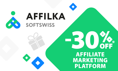 Affilka by SOFTSWISS Offers up to 30% for New Clients