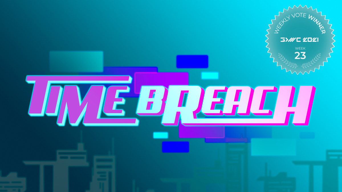 Time-traveling Puzzle-platformer Time Breach Wins Fan Favorite vote 23 at GDWC 2021!