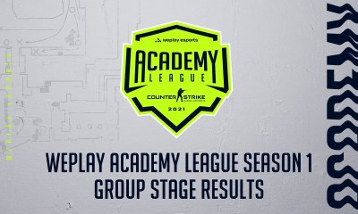 WePlay Academy League Season 1 Group Stage Results