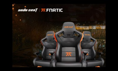 To celebrate the Esport LEC 2021 Summer Playoffs championship, AndaSeat is offering a free Gaming Desk to customers who purchase its Fnatic gaming chair during the competition if Fnatic Wins
