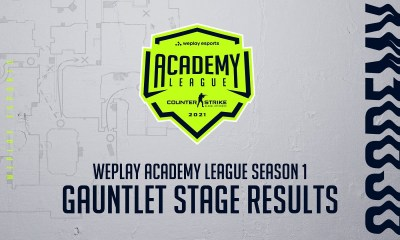 WePlay Academy League Season 1 Gauntlet Stage Results