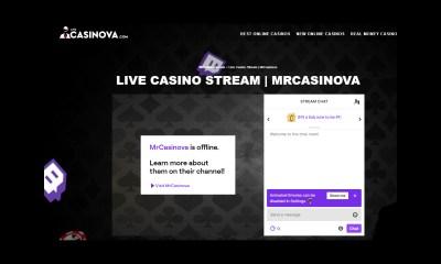 MrCasinova Launches a New Casino Livestream on Twitch