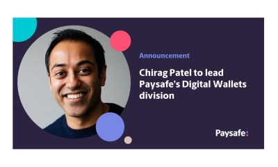 Paysafe appoints Chirag Patel to lead its Digital Wallets division