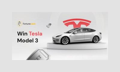 Hop on the FJ race and win a Tesla Model 3!