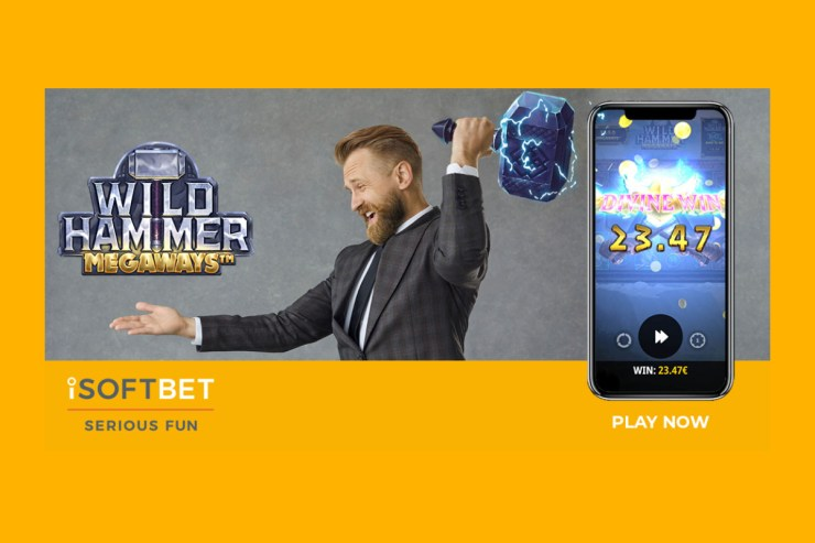 iSoftBet lance le hit asgardien Wild Hammer Megaways ™