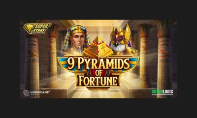 Climb the 9 Pyramids of Fortune in Stakelogic and Hurricane Games' latest slot