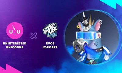 First Esports X NFT Partnership in Asia as EVOS Esports & Uninterested Unicorns Collaborates in Project