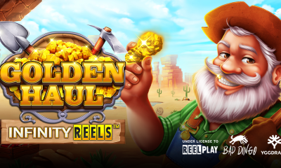 Yggdrasil and ReelPlay team up for Bad Dingo's Golden Haul Infinity Reels™