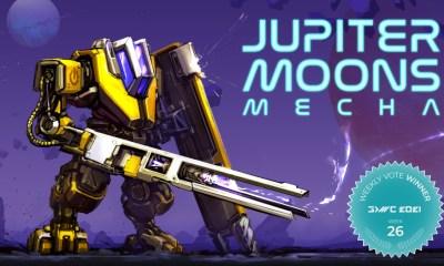 Mecha Card Battler Jupiter Moons: Mecha Wins Fan Favorite Vote 26 at GDWC 2021!
