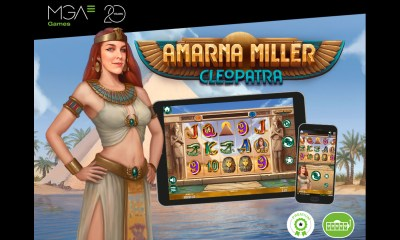 Amarna Miller and Ana Catharina are the main characters in the latest localised Casino Slot games from MGA Games