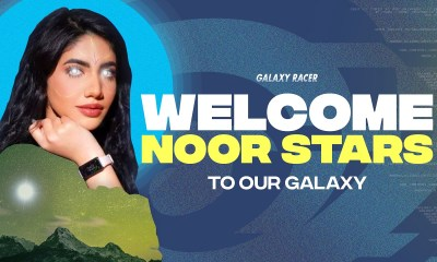 Galaxy Racer signs YouTube sensation Noor Stars as new content creator