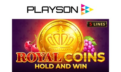 Playson unveils regal classic with Royal Coins: Hold and Win