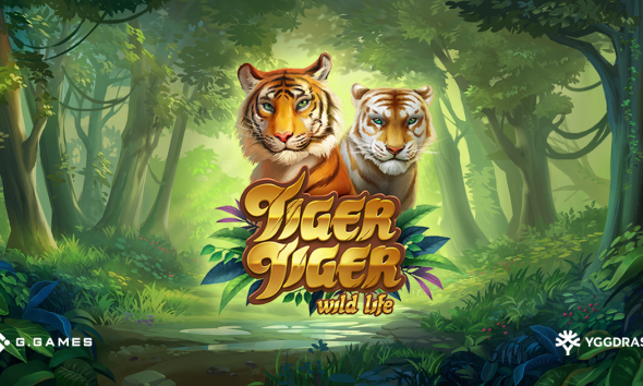Yggdrasil and G Games release roaring hit Tiger Tiger