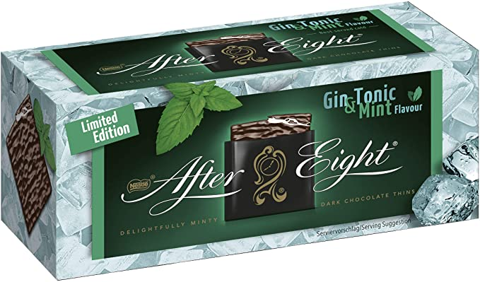 After Eight Dark Chocolate with Gin & Tonic Mint 200g