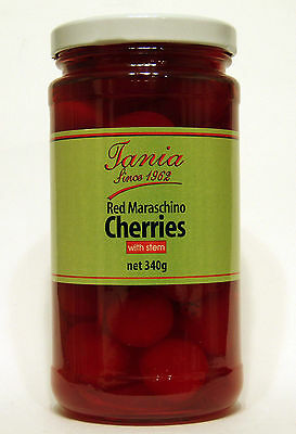 Tania Cherries with Stem 340g