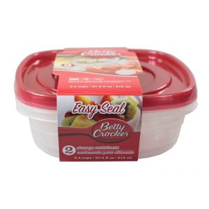 Betty Crocker Food Storage Containers - Square