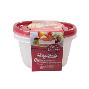 Betty Crocker Food Storage Containers - Round