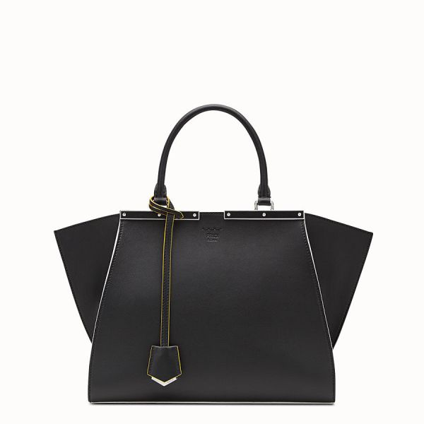 Fendi 8bh279 3 jours tote bag black