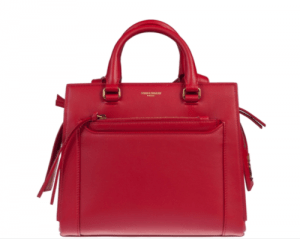 SAINT LAURENT TOTE BAG ROUGE EROS