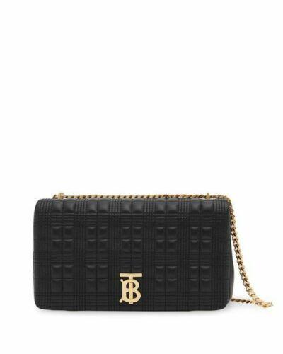 BURBERRY 8021701 LOLA MONOGRAM CROSSBODY BAG BLACK