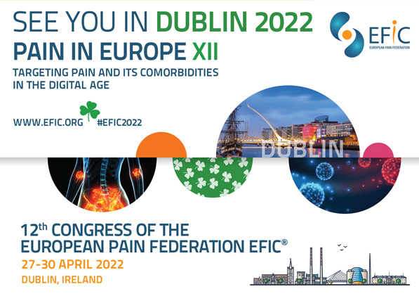 Save the new Date for the EFIC Congress: 27-30 April 2022