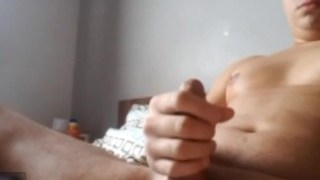 Str8 belgian guy cums a thick load – tricked 035