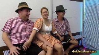 german groupsex lederhosen orgy