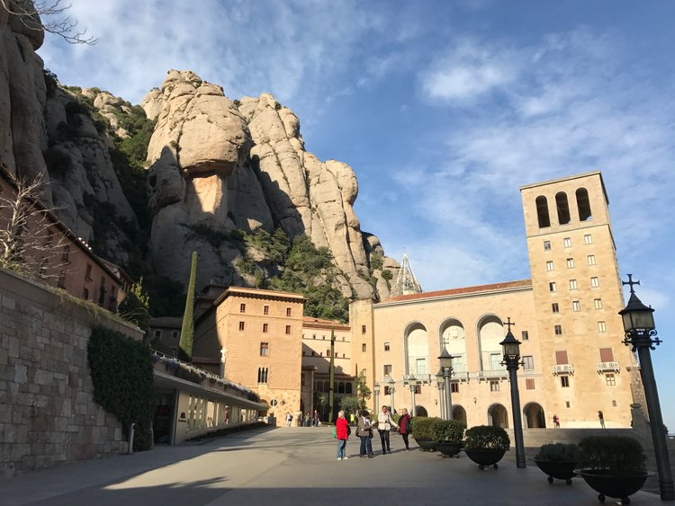 Touring beautiful destinations in Spain