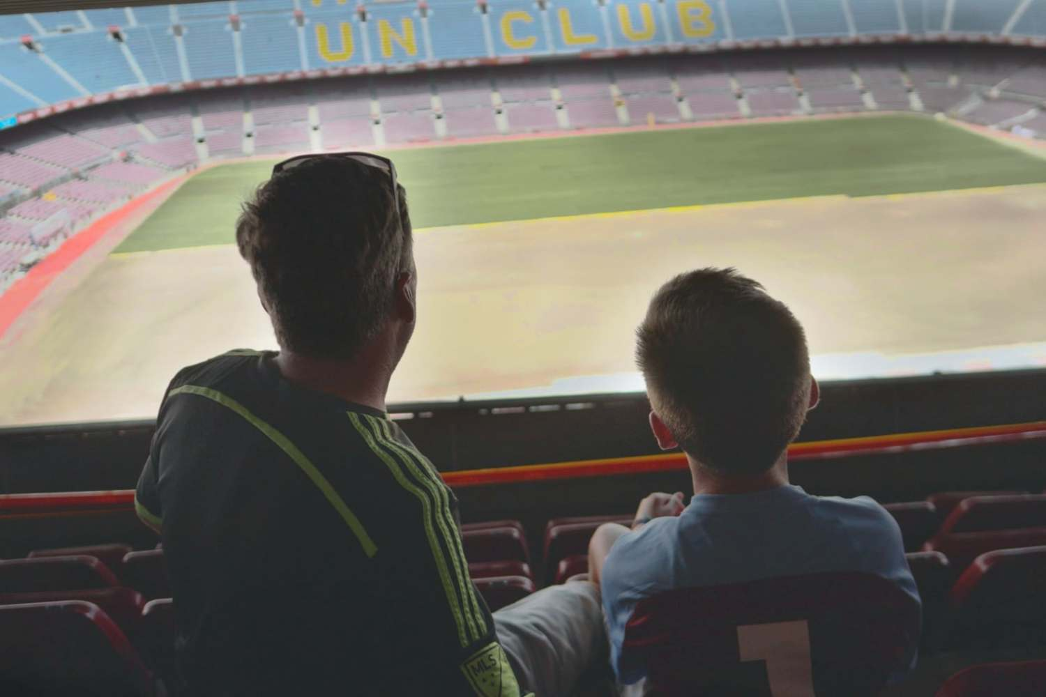 Quality time at Camp Nou, Barcelona