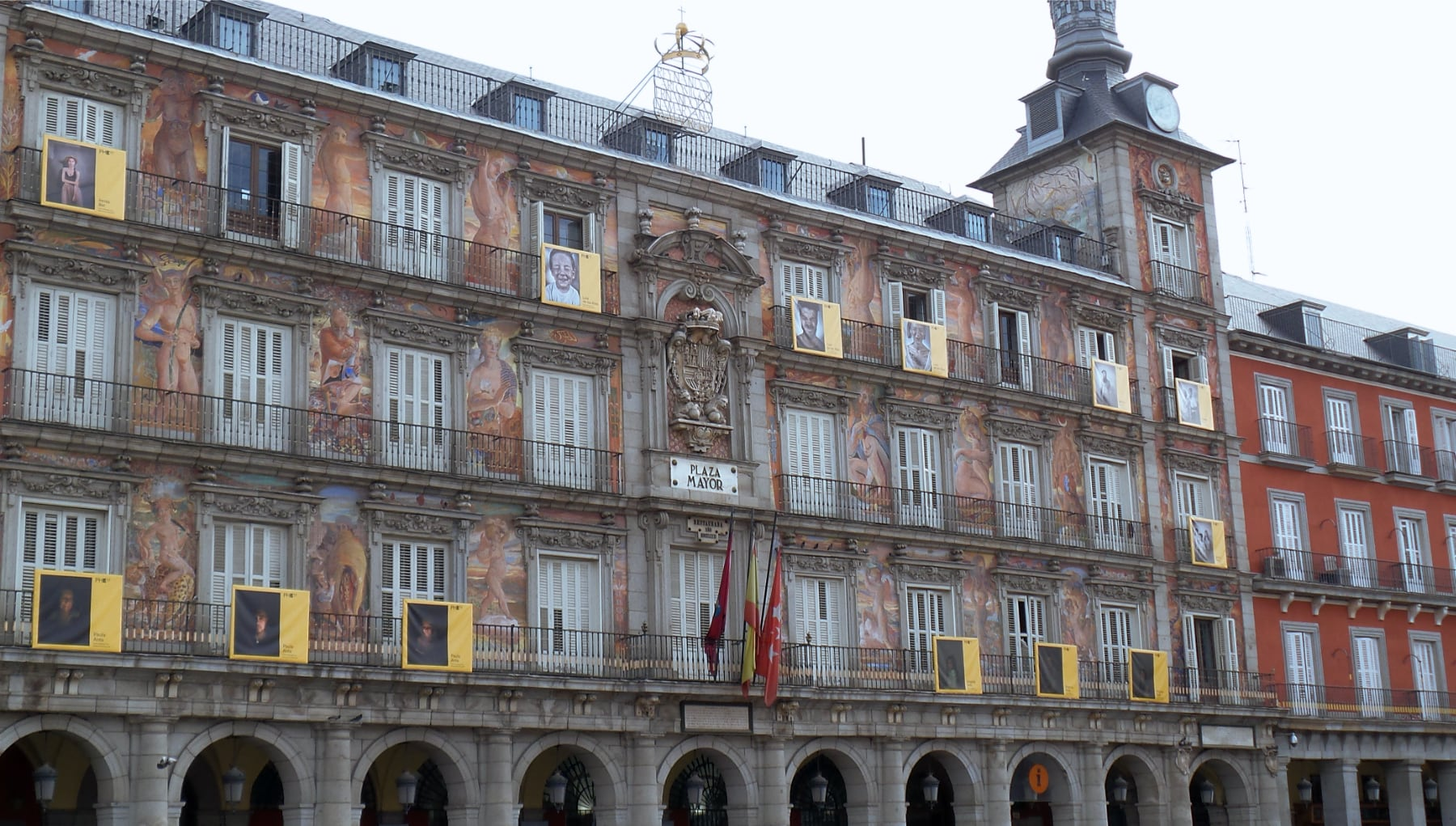 Plaza Mayor in the heart of Madrid