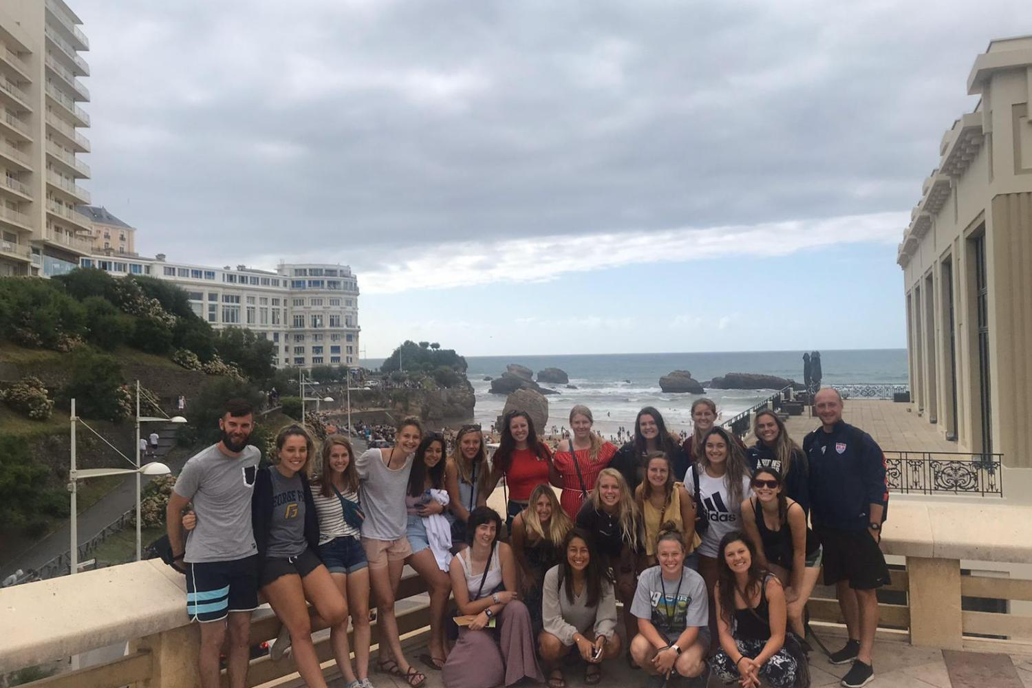 Taking a day trip to Biarritz, France
