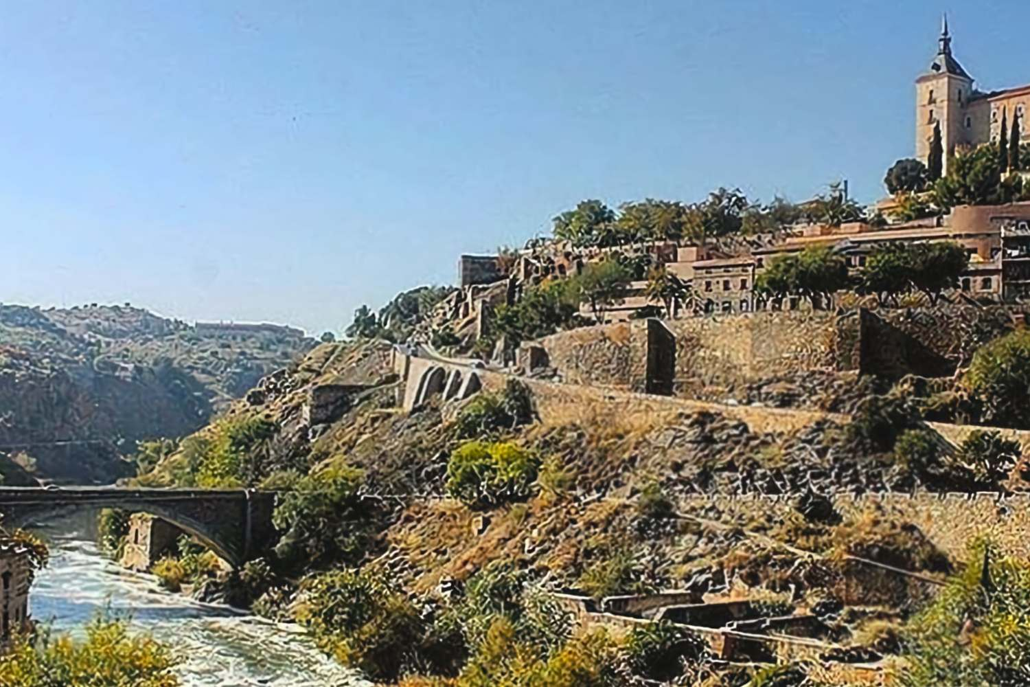 A view of old Toledo
