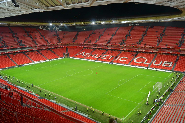 Athletic Bilbao's San Mames stadium