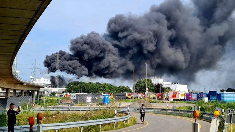 Breaking: One Killed in Germany Industrial Park Explosion