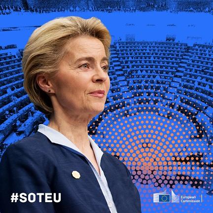 Retour sur le discours sur l'état de l'Union d'Ursula von der Leyen