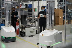 Coronavirus : la Commission va fournir 200 robots de désinfection à des hôpitaux européens